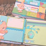 Decorar Album De Fotos Encantador Album Bebe Oso, Decoracion De Hojas Parte 2, Scrapbook   Youtube