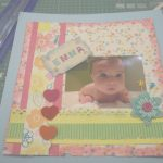 Decorar Album De Fotos Lujo Decorar Con Flores De Papel Y Alfileres Hoja De Album Scrap
