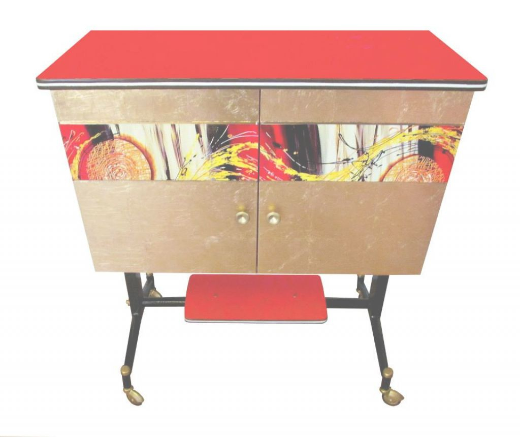 Mueble Bar Vintage Elegante Retro Furniture: Bar Sunset - Cocowif