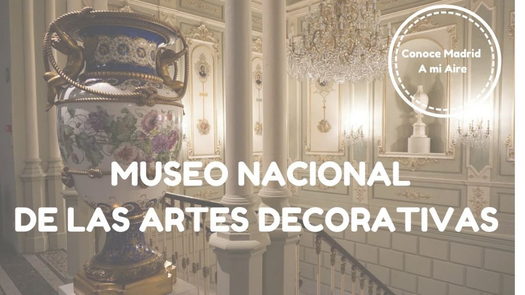 Museo Artes Decorativas Madrid Hermoso Museo Nacional De Las Artes Decorativas - Youtube